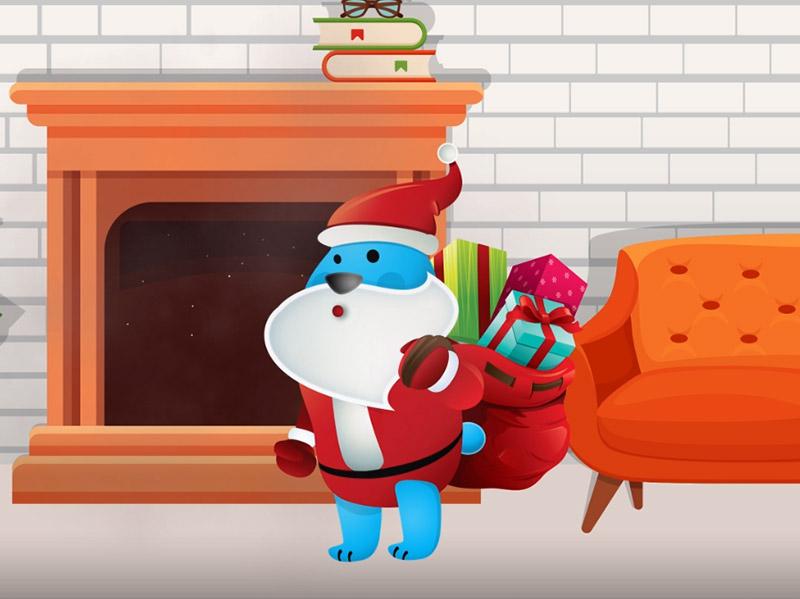 Swiąteczną animacja dla firmy Noble Health