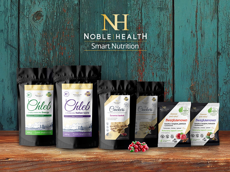 Noble health – linia serii Smart Nutrition