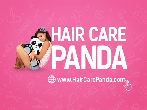 Hair Care Panda – 12 sekundowa animacja pod adwords